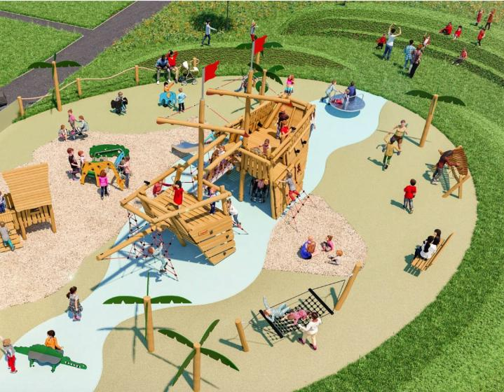 David Livingstone Trust Exploration and Imaginative Playpark